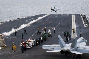 Tàu sân bay Mỹ tập trận ở biển Đông không nhằm vào Trung Quốc