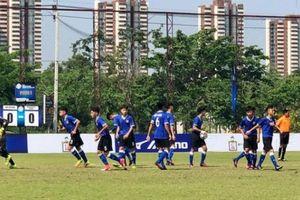U15 PVF 'chốt hạ' bằng chiến thắng nhẹ trước CLB Thái Lan