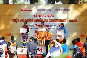 Việt dã Tiền Phong 2018 vinh danh những người xuất sắc nhất