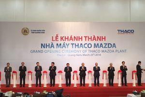 Thủ tướng cắt băng khánh thành nhà máy sản xuất ô tô Mazda