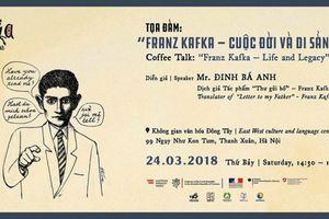 Tọa đàm về Franz Kafka - Cuộc đời và di sản