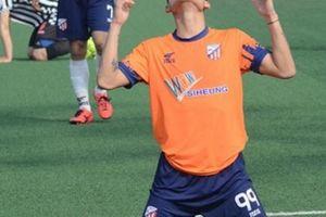 Cựu tiền đạo U23 Việt Nam ghi bàn ngay trận ra mắt tại Hàn Quốc