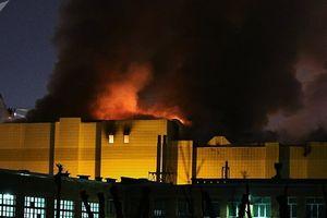 Vụ cháy trung tâm thương mại Nga khiến 56 người chết: 40 trẻ em vẫn mất tích