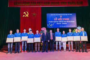 Học viện Y Dược học cổ truyền Việt Nam long trọng kỷ niệm Ngày thành lập Đoàn