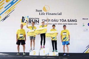 Giải chạy bộ 'Sun Life Việt Nam – Đường chạy Khởi đầu tỏa sáng 2018'