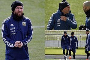 Cận cảnh: Lionel Messi tái xuất sau chấn thương ở ĐT Argentina