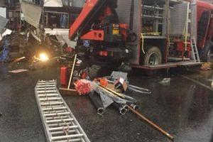 Xe cứu hỏa cắt ngang cao tốc: Đừng đổ lỗi cho tài xế xe khách