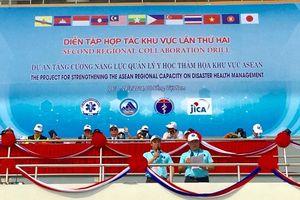 Cận cảnh diễn tập quốc tế ứng phó y tế trong thảm họa