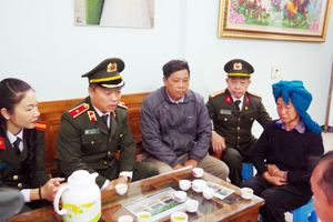 Học viện Chính trị CAND thăm hỏi chia buồn với gia đình Thượng úy Lưu Minh Thức