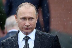 Ông Putin đặt hoa tưởng niệm nạn nhân vụ cháy trung tâm thương mại