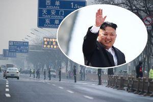 An ninh siết chặt tại nhà khách nghi ông Kim đang nghỉ ở Bắc Kinh