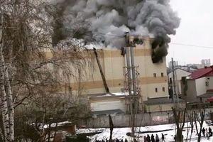 Tổng thống Nga: Cháy trung tâm thương mại là do lỗi bất cẩn
