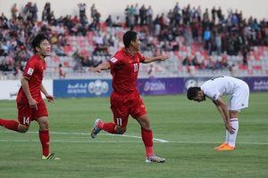Bảng C vòng loại thứ ba Asian Cup 2019: ĐT Jordan 1-1 Việt Nam