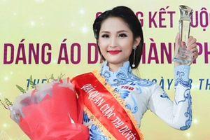 Ngắm vẻ đẹp của quán quân Duyên dáng áo dài TP.HCM 2018