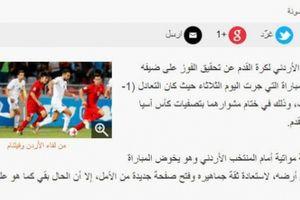 Báo Jordan: 'ĐT Việt Nam sẽ là ẩn số tại VCK Asian Cup 2019'
