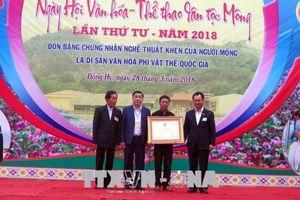 Bảo tồn, phát huy những nét văn hóa đẹp của đồng bào Mông