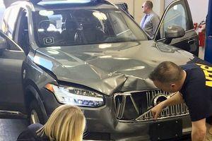 Xe tự lái của Uber bị dừng thử nghiệm sau khi gây tai nạn