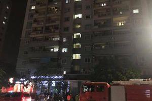 Vụ cháy chung cư A1 Nguyễn Cơ Thạch: Hệ thống chuông báo cháy không hoạt động?