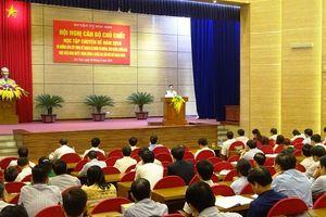 Huyện ủy Sóc Sơn học tập chuyên đề tư tưởng, đạo đức, phong cách Hồ Chí Minh năm 2018