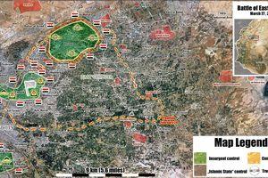 Quân tinh nhuệ Syria sắp tung đòn san phẳng 'pháo đài' thánh chiến cuối cùng tại Đông Ghouta