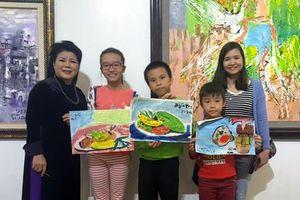 Hội họa giúp trẻ khuyết tật, tự tin hòa nhập cộng đồng
