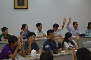 TP HCM: Chuyên đề kỹ năng tạo động lực và truyền lửa cho học sinh tại Đại học Tôn Đức Thắng