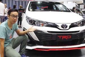 Cảm nhận đầu tiên về Toyota Yaris Ativ TRD 2018 mới ra mắt