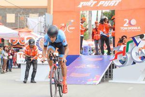 Tay đua Loic chiến thắng trong nội dung sở trường