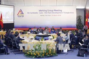 Hội nghị GMS6 và CLV10: Hội nghị Quan chức cao cấp GMS