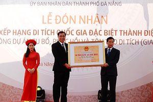 Đà Nẵng đón Bằng xếp hạng Di tích quốc gia đặc biệt Thành Điện Hải