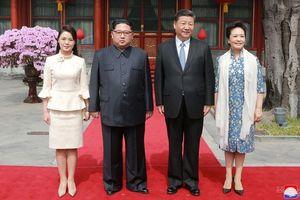 Dân mạng Trung Quốc 'sốt xình xịch' trước vẻ đẹp của phu nhân ông Kim Jong-un