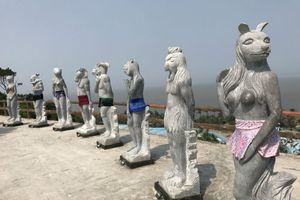Hải Phòng: Yêu cầu phong tỏa vườn tượng 12 con giáp để hạn chế tham quan