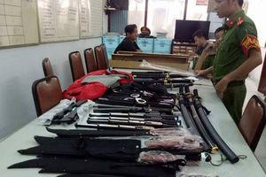 Công an TP.HCM phát hiện bắt giữ nhiều vũ khí nóng