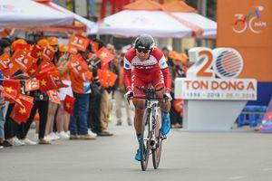 Khởi tranh Giải xe đạp Cúp Truyền hình TP Hồ Chí Minh-Tôn Đông Á 2018: Loic Desriac thắng chặng cá nhân tính giờ