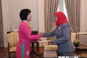 Đưa quan hệ hợp tác nhiều mặt Việt Nam-Singapore lên tầm cao mới