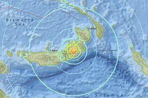 Papua New Guinea: Động đất mạnh gây cảnh báo sóng thần