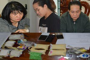 Bắt 3 'nữ quái' vận chuyển ma túy từ Campuchia vào Việt Nam