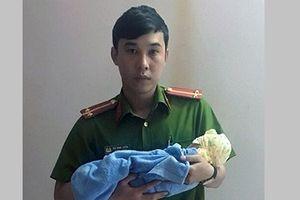 Bé gái sơ sinh còn nguyên dây rốn bị bỏ rơi bên đường ở Quảng Ninh
