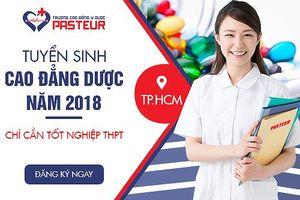Trường Cao đẳng Y Dược Pasteur tuyển sinh hệ chính quy năm 2018