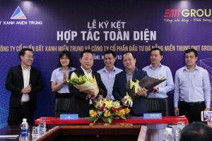 Đà Nẵng: Đất Xanh miền Trung hợp tác toàn diện với DMT Group