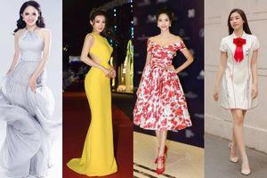 Lê Thanh Hòa chính là 'kẻ giấu tay' gây ra hàng loạt vụ chung đụng váy áo kỷ lục chỉ trong 3 tháng đầu năm