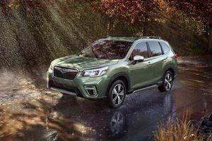 Subaru Forester 2019: Khoang chứa đồ rộng hơn, mở bán vào cuối năm