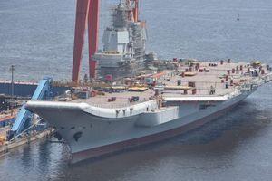 Trung Quốc sắp thử nghiệm tàu sân bay nội địa đầu tiên