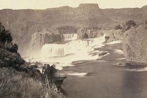 Cảnh sắc thiên nhiên và thổ dân da đỏ miền Tây nước Mỹ 150 năm trước
