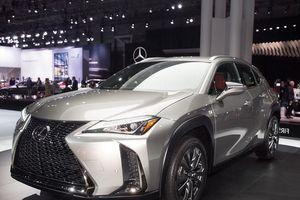 SUV cỡ nhỏ Lexus UX 2019 dành cho Bắc Mỹ chính thức lộ diện