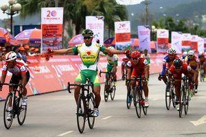 Chặng 2 giải xe đạp Cúp Truyền hình TPHCM 2018: Thành Tâm nước rút