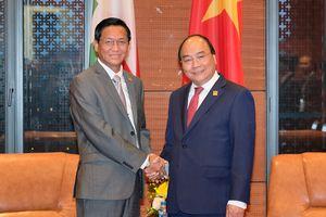 Thủ tướng tiếp Phó Tổng thống Myanmar