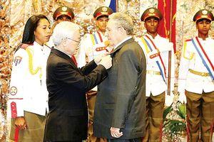 Việt Nam - Cuba: Đoàn kết, hữu nghị, trước sau như một