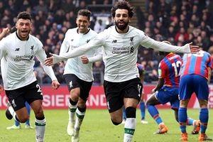 Salah nổ súng, Liverpool lội ngược dòng thắng Crystal Palace
