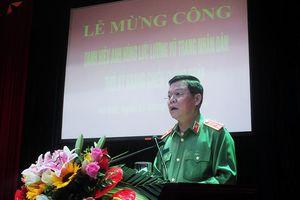Công an Hà Nội nhận danh hiệu 'Anh hùng lực lượng vũ trang nhân dân'